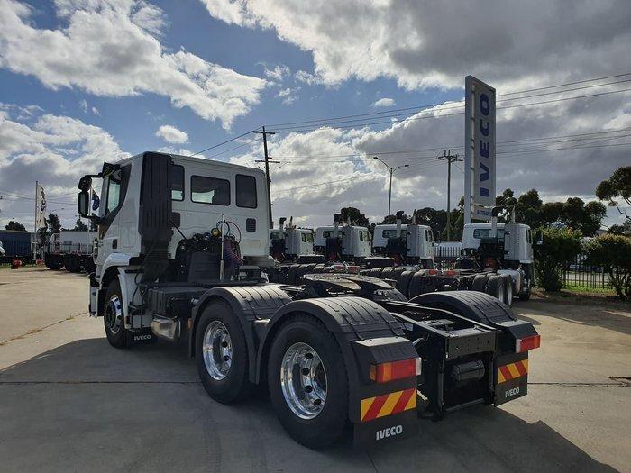 2019 IVECO STRALIS ATI 460 6X4 - READY TO WORK White