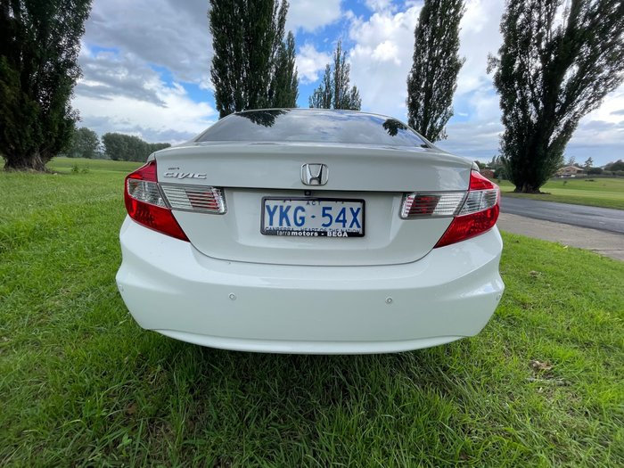 2015 Honda Civic VTi-L 9th Gen Ser II MY15 Taffeta White