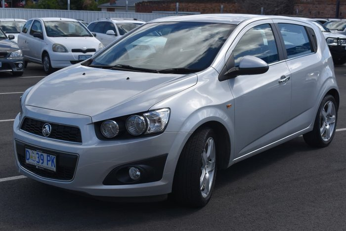 2013 Holden Barina CDX TM MY14 Silver