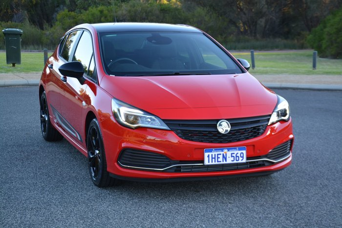 2019 Holden Astra RS BK MY19 Absolute Red