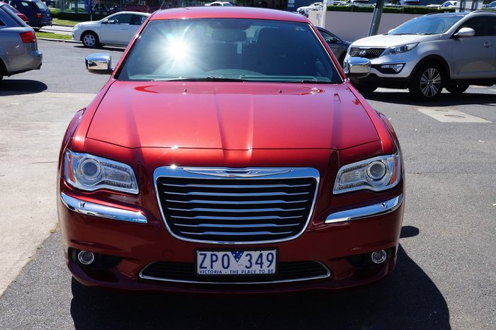 2013 Chrysler 300 Limited LX MY13 Red