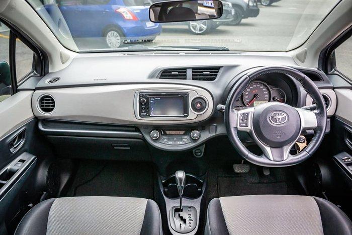 2013 Toyota Yaris YRX NCP131R Silver
