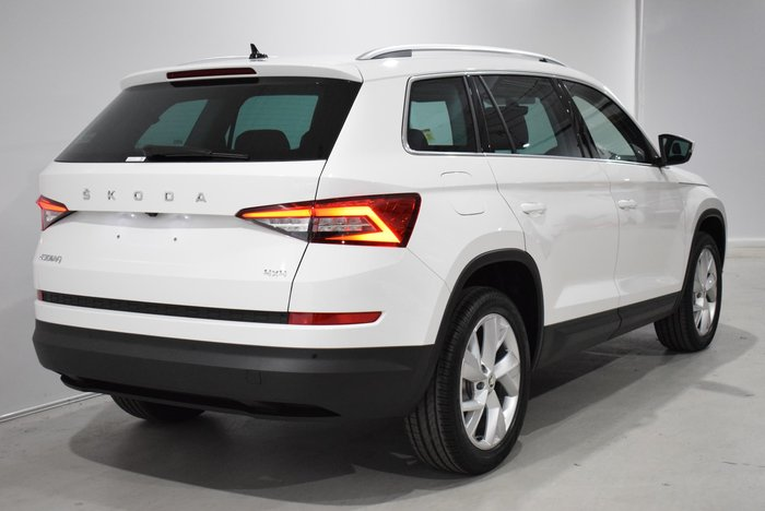 2020 SKODA Kodiaq 132TSI NS MY20.5 4X4 Candy White