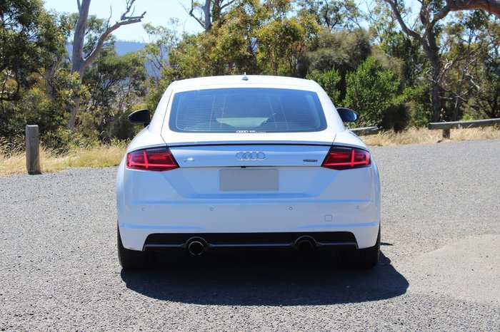 2016 Audi TT S Line FV MY16 Four Wheel Drive White
