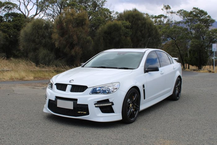 2014 Holden Special Vehicles GTS GEN-F MY14 White