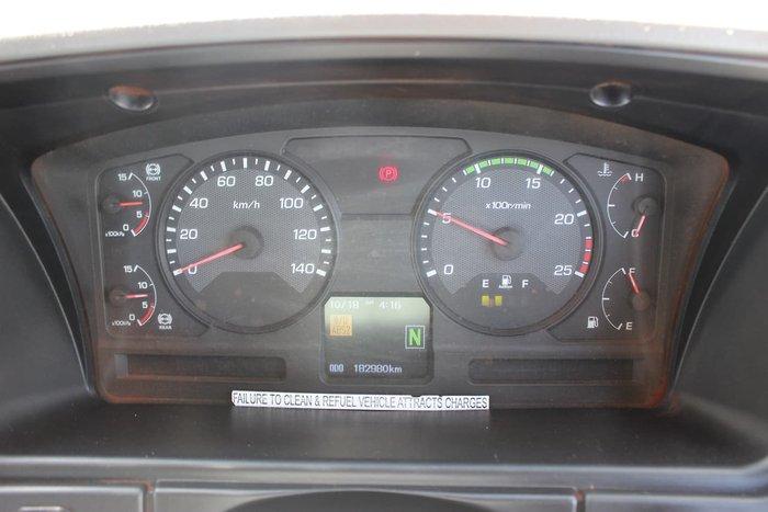 2014 FUSO FV54 6X4 LWB AUTO MINESPEC WHITE