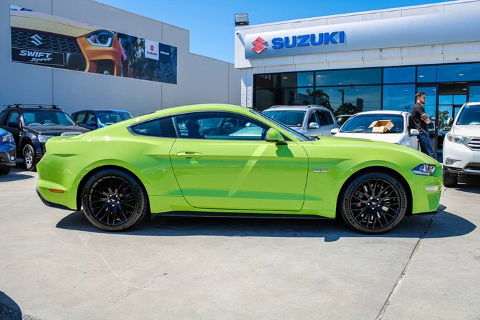 2020 Ford Mustang GT FN MY20 Green