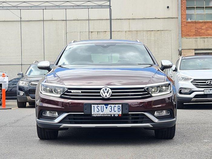 2017 Volkswagen Passat Alltrack Wolfsburg Edition B8 MY18 Four Wheel Drive Maroon