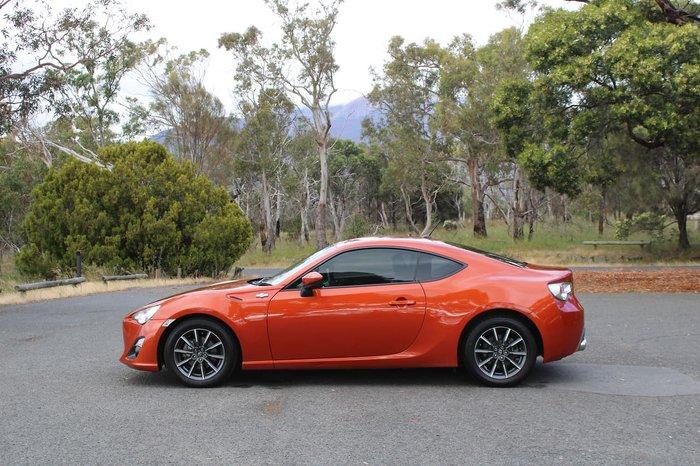 2012 Toyota 86 GT ZN6 Orange
