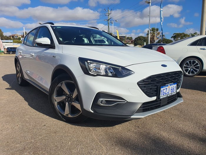 2019 Ford Focus Active SA MY19.25 Frozen White