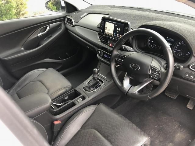 2018 Hyundai i30 2018 Hyundai PD2 I30 HATCH ELITE 2.0P AUTO POLAR WHITE