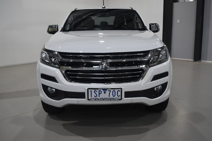 2019 Holden Colorado LTZ RG MY19 4X4 Dual Range White