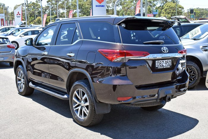 2015 Toyota Fortuner Crusade GUN156R 4X4 Dual Range Phantom Brown
