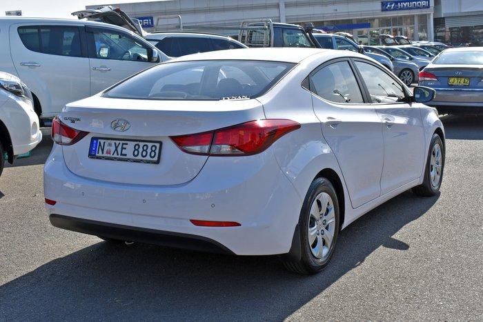 2015 Hyundai Elantra Active MD3 Polar White