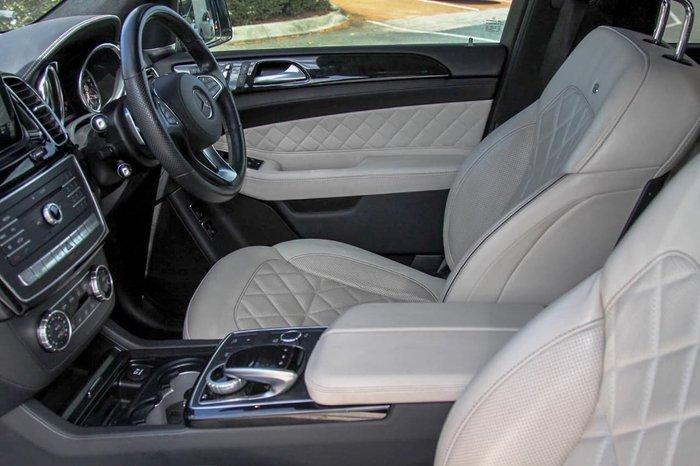2017 Mercedes-Benz GLS-Class GLS350 d X166 Four Wheel Drive Black