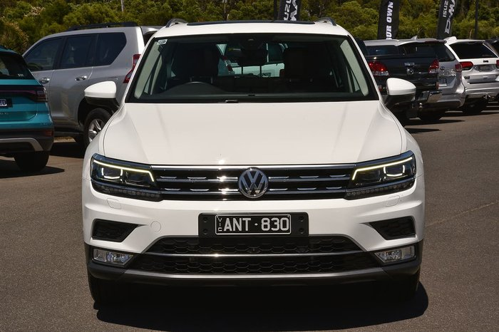 2017 Volkswagen Tiguan 162TSI Highline 5N MY18 Four Wheel Drive White