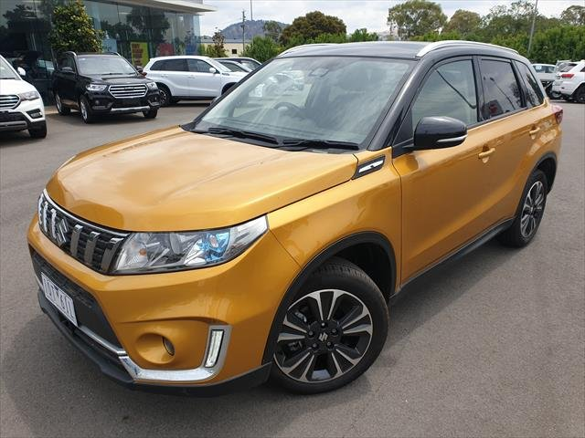 2019 Suzuki Vitara Turbo LY Series II SOLAR YELLOW/COSMIC BLACK