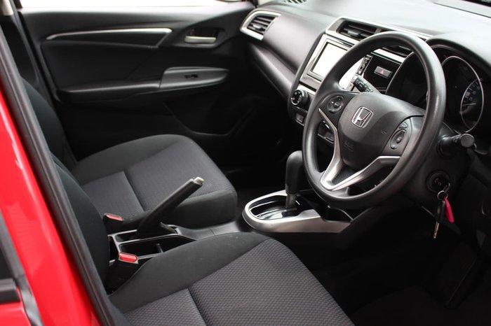 2017 Honda Jazz VTi GF MY18 Red