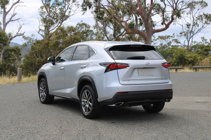 2015 Lexus NX NX200t Luxury AGZ15R 4X4 On Demand Silver
