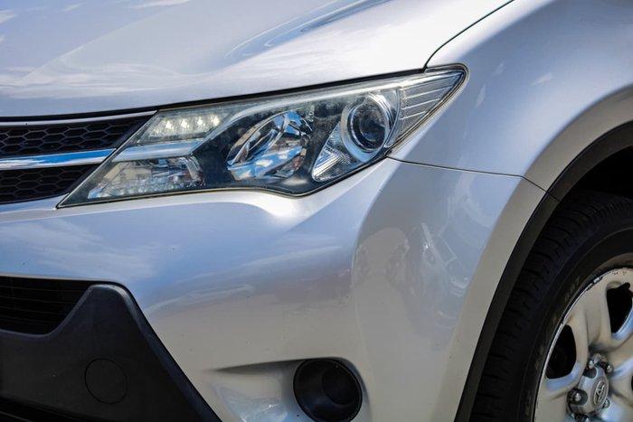 2014 Toyota RAV4 GX ALA49R MY14 4X4 On Demand Silver