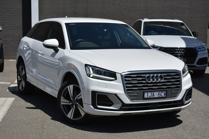 2017 Audi Q2 sport GA MY18 Four Wheel Drive Ibis White