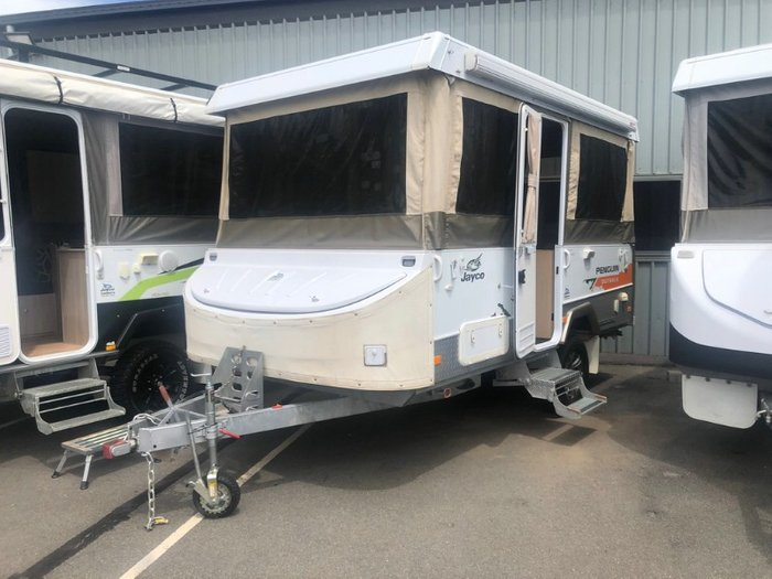 2012 JAYCO PENGUIN OUTBACK WHITE