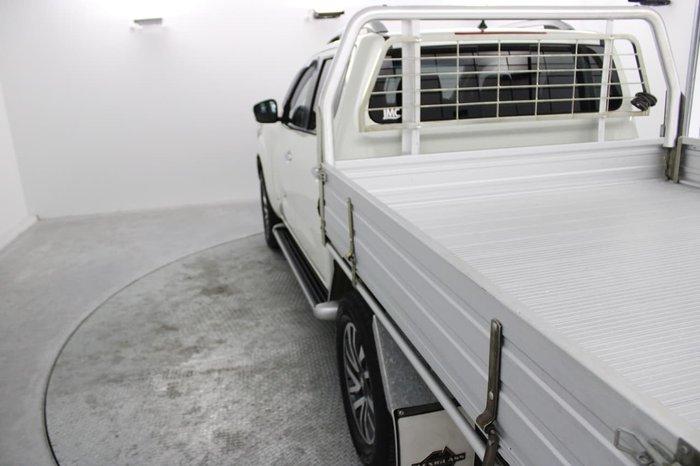 2016 Nissan Navara ST-X D23 4X4 Dual Range White