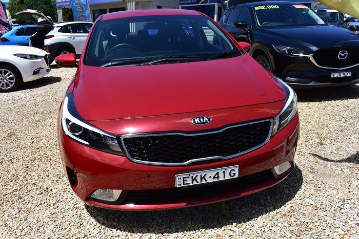 2017 Kia Cerato S YD MY17 Red