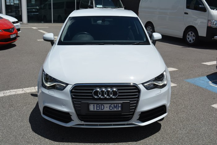 2014 Audi A1 Attraction 8X MY14 Glacier White
