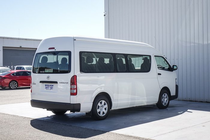 2014 Toyota Hiace Commuter KDH223R MY14 White