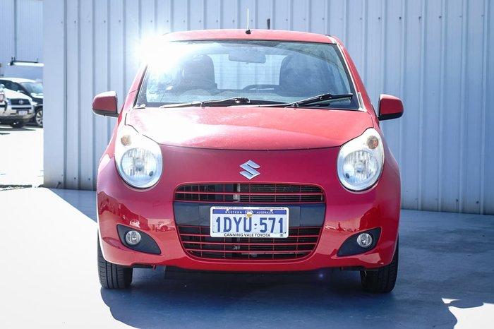 2012 Suzuki Alto GL GF Red