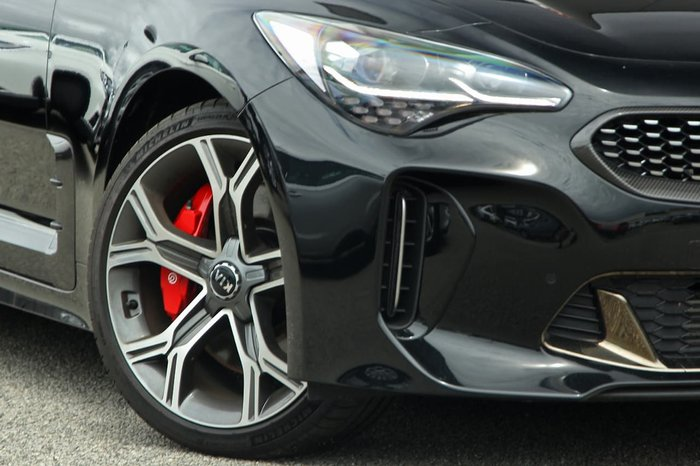 2019 Kia Stinger GT Carbon Edition CK MY20 Black