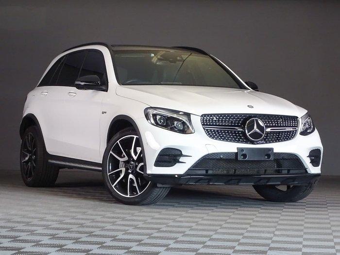2016 Mercedes-Benz GLC-Class GLC43 AMG X253 Four Wheel Drive White