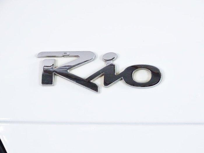 2010 Kia Rio S JB MY10 White