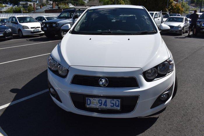 2013 Holden Barina CD TM MY14 White