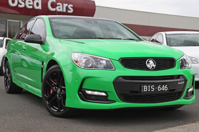 2016 Holden Commodore SS V Redline VF Series II MY16 Green