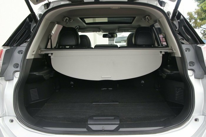 2015 Nissan X-TRAIL Ti T32 4X4 On Demand SILVER