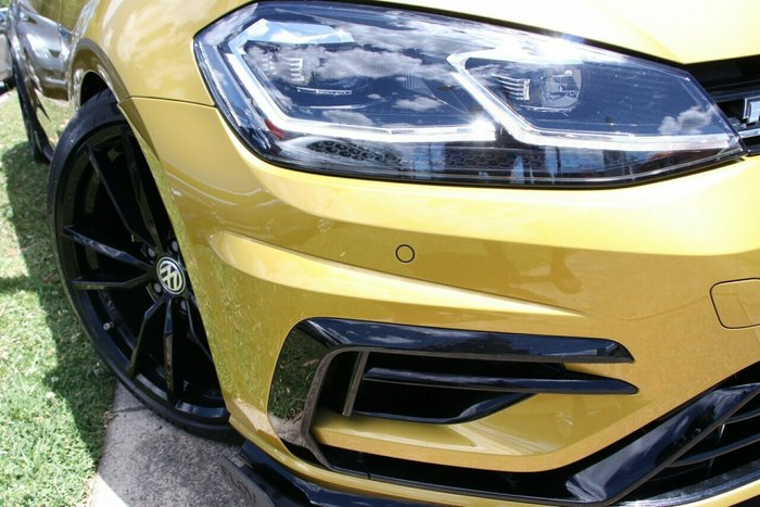 2018 Volkswagen Golf R Special Edition 7.5 MY19 Four Wheel Drive TURMERIC YELLOW