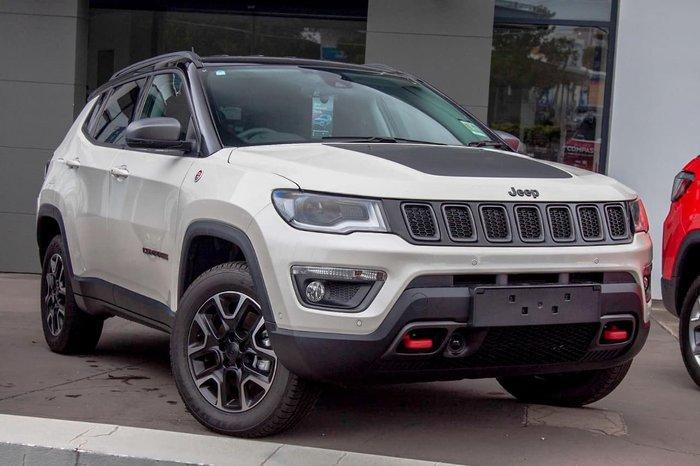 2020 Jeep Compass Trailhawk M6 MY20 4X4 Dual Range White