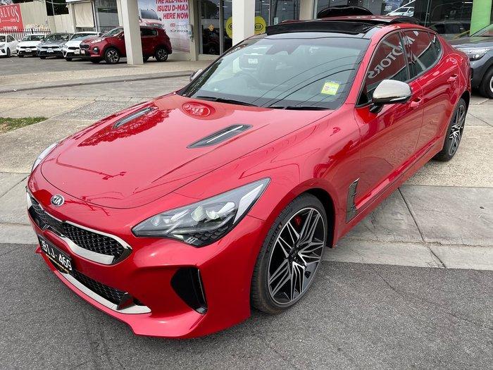 2020 Kia Stinger GT CK MY20 Red