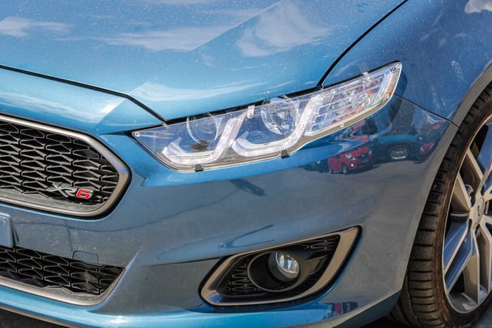 2016 Ford Falcon Ute XR6 Turbo FG X Blue