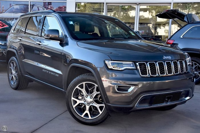 2020 Jeep Grand Cherokee Limited WK MY20 4X4 Dual Range Grey
