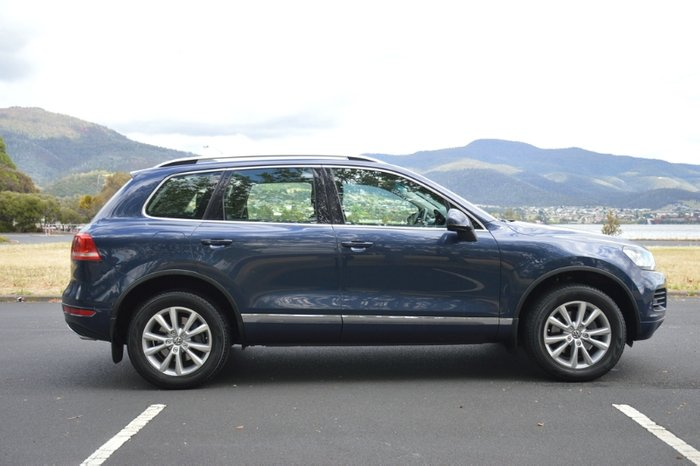 2014 Volkswagen Touareg 150TDI 7P MY14 Four Wheel Drive blue