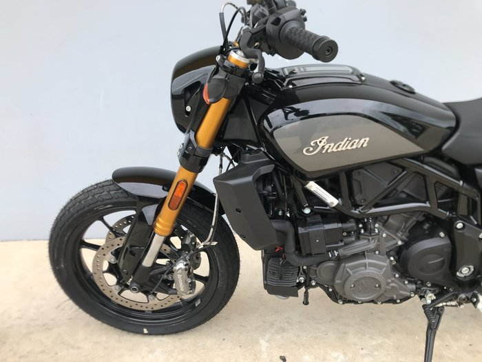 2019 Indian 2019 INDIAN 1200CC FTR S TITANIUM METALLIC/THUNDER BLACK ROAD Black