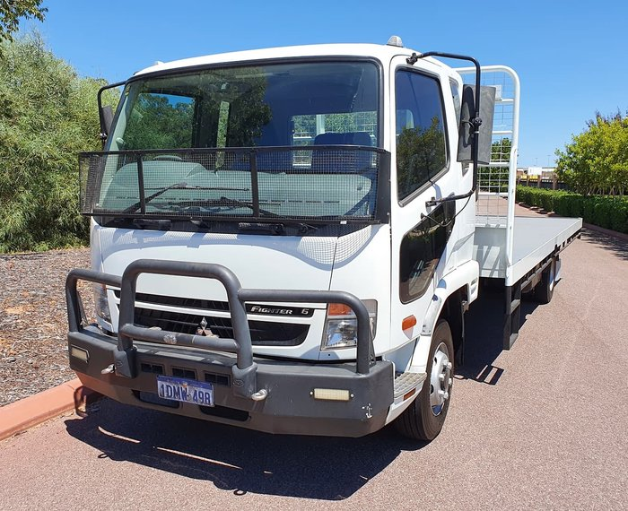 2010 FUSO 1024 FUSO FIGHTER TRAY WHITE