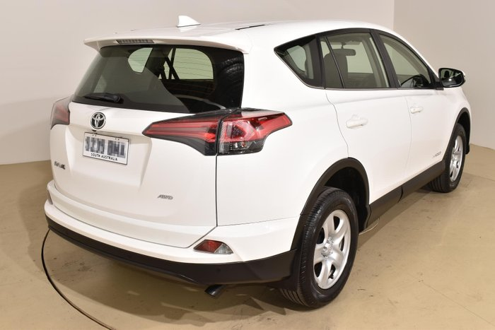 2017 Toyota RAV4 GX ALA49R 4X4 On Demand Glacier White