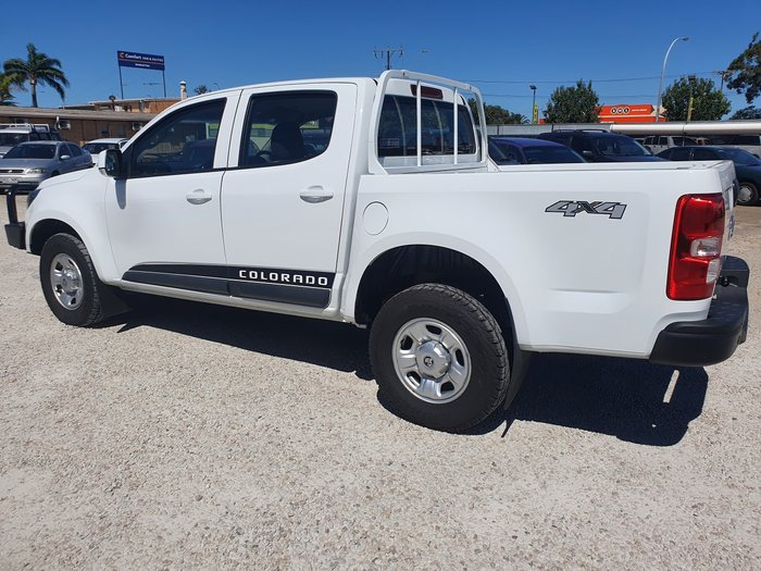 2017 Holden Colorado LS RG MY17 4X4 Dual Range Summit White