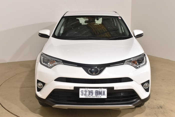 2017 Toyota RAV4 GX ASA44R 4X4 On Demand White