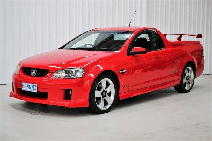 2009 Holden Ute SS V VE MY09.5 Red