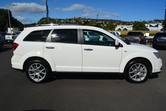 2015 Fiat Freemont Lounge JF MY15 White